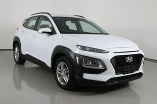2019 Hyundai Kona OS.2 MY19 Active (FWD) White 6 Speed Automatic Wagon.