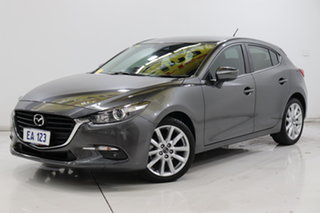 2018 Mazda 3 BN5436 SP25 SKYACTIV-MT Grey 6 Speed Manual Hatchback.