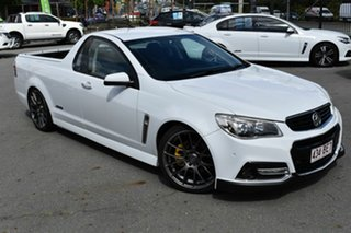2013 Holden Ute VF SS-V White 6 Speed Automatic Utility.