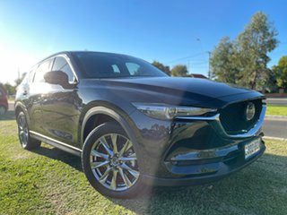 2018 Mazda CX-5 KF4WLA Akera SKYACTIV-Drive i-ACTIV AWD Jet Black 6 Speed Sports Automatic Wagon.