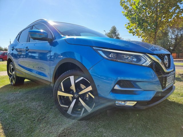 Used Nissan Qashqai J11 Series 2 Ti X-tronic Hindmarsh, 2019 Nissan Qashqai J11 Series 2 Ti X-tronic Blue 1 Speed Constant Variable Wagon
