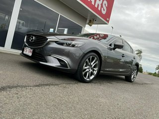 2017 Mazda 6 GL1031 GT SKYACTIV-Drive Grey 6 Speed Sports Automatic Sedan.
