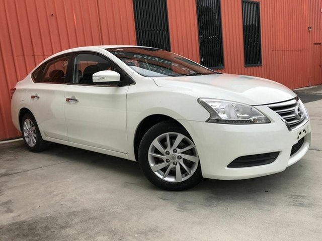 Used Nissan Pulsar B17 ST Molendinar, 2013 Nissan Pulsar B17 ST White 1 Speed Constant Variable Sedan