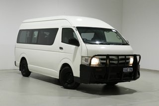 2011 Toyota HiAce KDH223R MY11 Upgrade Commuter White 4 Speed Automatic Bus.