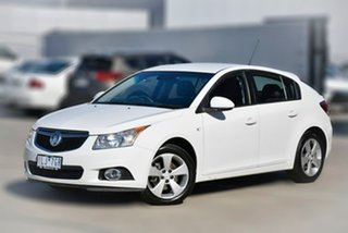 2013 Holden Cruze JH Series II MY14 Equipe White 6 Speed Sports Automatic Hatchback.