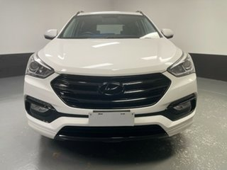 2016 Hyundai Santa Fe DM3 MY17 Active White 6 Speed Sports Automatic Wagon
