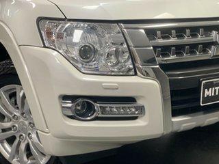 2017 Mitsubishi Pajero NX MY18 Exceed White 5 Speed Sports Automatic Wagon.