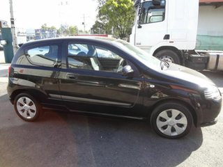2006 Holden Barina TK Black 5 Speed Manual Hatchback.