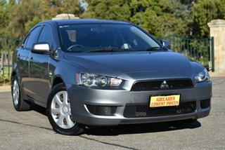 2012 Mitsubishi Lancer CJ MY13 ES Sportback Grey 5 Speed Manual Hatchback.