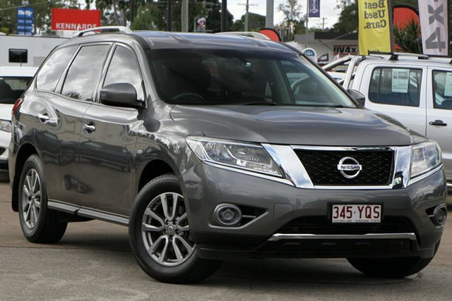 Used Nissan Pathfinder R52 MY16 ST X-tronic 2WD Bundamba, 2016 Nissan Pathfinder R52 MY16 ST X-tronic 2WD Grey 1 Speed Constant Variable Wagon