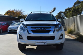 2020 Isuzu D-MAX MY19 LS-M Crew Cab White 6 Speed Sports Automatic Utility.