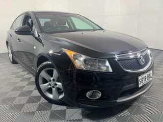 2013 Holden Cruze JH Series II MY14 SRi-V Black 6 Speed Manual Sedan.