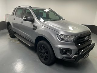2019 Ford Ranger PX MkIII 2019.75MY Wildtrak Aluminium 10 Speed Sports Automatic Double Cab Pick Up.