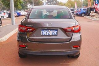 2015 Mazda 2 DL2SAA Maxx SKYACTIV-Drive Silver 6 Speed Sports Automatic Sedan.