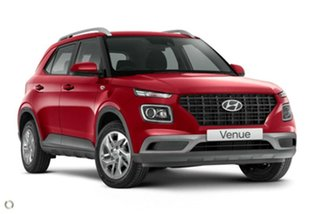 2021 Hyundai Venue QX.V3 MY21 Fiery Red 6 Speed Automatic Wagon