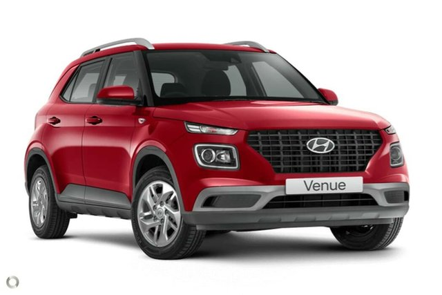 New Hyundai Venue QX.V3 MY21 Nailsworth, 2021 Hyundai Venue QX.V3 MY21 Fiery Red 6 Speed Automatic Wagon