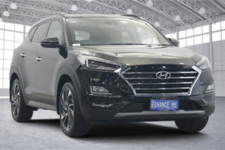 2020 Hyundai Tucson TL3 MY20 Highlander D-CT AWD Black 7 Speed Sports Automatic Dual Clutch Wagon.