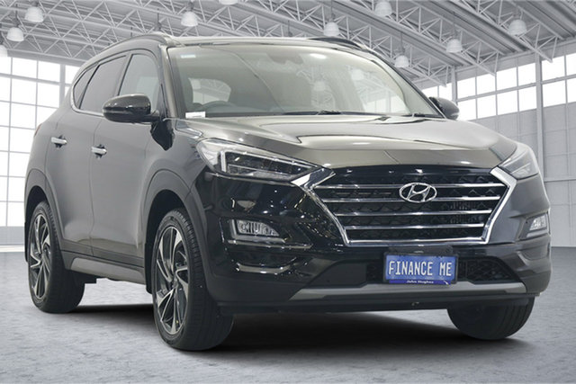 Used Hyundai Tucson TL3 MY20 Highlander D-CT AWD Victoria Park, 2020 Hyundai Tucson TL3 MY20 Highlander D-CT AWD Black 7 Speed Sports Automatic Dual Clutch Wagon