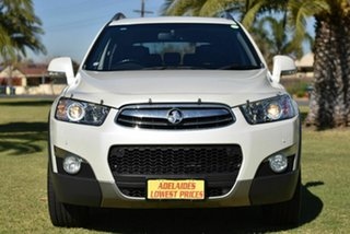 2012 Holden Captiva CG Series II 7 AWD LX White 6 Speed Sports Automatic Wagon.