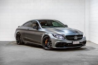 2016 Mercedes-Benz C-Class C205 C63 AMG SPEEDSHIFT MCT S Grey 7 Speed Sports Automatic Coupe.