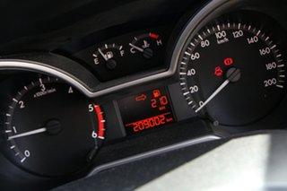 2013 Mazda BT-50 UP0YF1 XT 4x2 Hi-Rider White 6 Speed Manual Cab Chassis