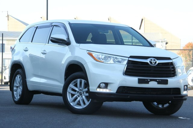 Used Toyota Kluger GSU50R GX 2WD Essendon North, 2016 Toyota Kluger GSU50R GX 2WD White 6 Speed Sports Automatic Wagon