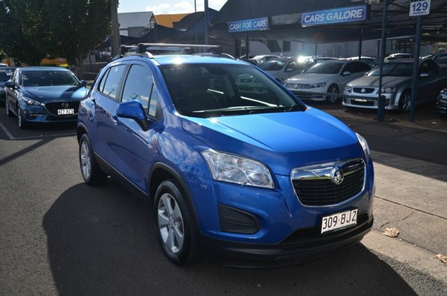 Used Holden Trax TJ MY16 LS Active Pack Toowoomba, 2016 Holden Trax TJ MY16 LS Active Pack Blue 5 Speed Manual Wagon