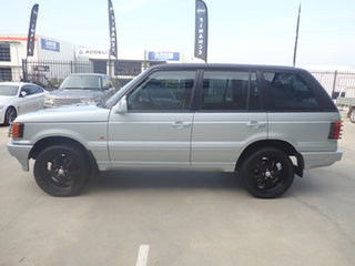 1998 Land Rover Range Rover SE Silver & Chrome 4 Speed Automatic Wagon