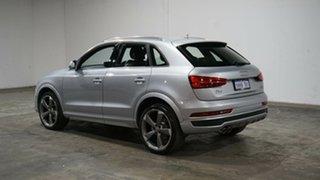 2015 Audi Q3 8U MY16 TDI S Tronic Quattro Sport Silver 7 Speed Sports Automatic Dual Clutch Wagon.