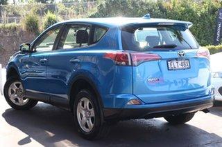 2016 Toyota RAV4 ZSA42R GX 2WD Blue 6 Speed Manual Wagon.