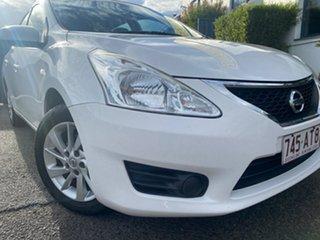 2014 Nissan Pulsar C12 ST Washington White 1 Speed Constant Variable Hatchback.