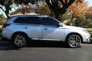 2015 Mitsubishi Outlander ZK MY16 LS 2WD Silver 6 Speed Constant Variable Wagon
