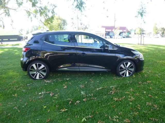 Used Renault Clio IV B98 Beverley, 2015 Renault Clio IV B98 Expression+ Black Sports Automatic Dual Clutch Hatchback