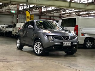 2013 Nissan Juke F15 MY14 ST 2WD Grey 1 Speed Constant Variable Hatchback.