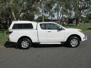 2012 Mazda BT-50 UP0YF1 XTR Freestyle White 6 Speed Manual Utility.