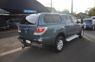 2012 Mazda BT-50 XTR (4x4) Blue 6 Speed Manual Dual Cab Utility.