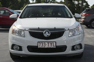 2014 Holden Cruze JH Series II MY14 Equipe White 5 Speed Manual Hatchback