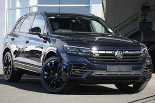2021 Volkswagen Touareg CR MY21 210TDI Tiptronic 4MOTION Wolfsburg Edition Blue 8 Speed.