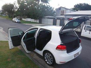 2009 Volkswagen Golf VI 103TDI COMFO TDI White 6 Speed Automatic Hatchback