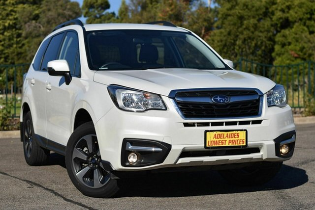Used Subaru Forester S4 MY18 2.0D-L CVT AWD Enfield, 2018 Subaru Forester S4 MY18 2.0D-L CVT AWD White 7 Speed Constant Variable Wagon