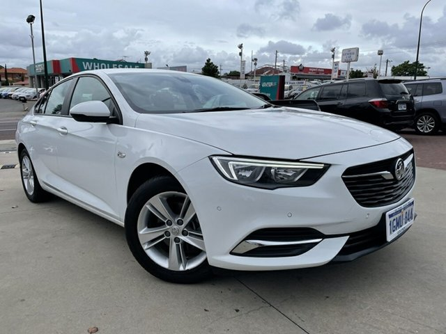 Used Holden Commodore ZB LT Victoria Park, 2018 Holden Commodore ZB LT White 9 Speed Automatic Liftback