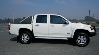 2009 Holden Colorado RC MY09 LT-R Crew Cab White 4 Speed Automatic Utility.