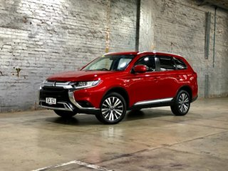 2019 Mitsubishi Outlander ZL MY19 ES AWD Maroon 6 Speed Constant Variable Wagon.