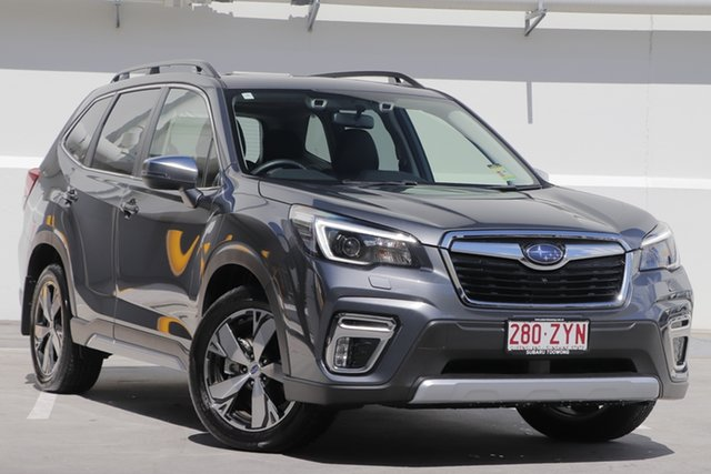 New Subaru Forester S5 MY21 2.5i-S CVT AWD Toowong, 2020 Subaru Forester S5 MY21 2.5i-S CVT AWD Magnetite Grey 7 Speed Constant Variable Wagon