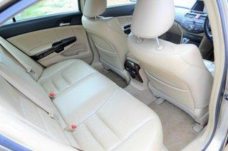 2008 Honda Accord 8th Gen V6 Luxury Brown 5 Speed Sports Automatic Sedan