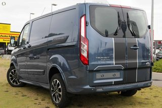 2021 Ford Transit Custom VN 2021.25MY 320S (Low Roof) Sport Blue 6 Speed Automatic Van