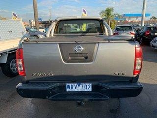 2008 Nissan Navara D40 ST-X (4x4) Grey & Black 5 Speed Automatic Dual Cab Pick-up