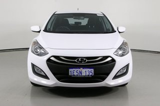 2015 Hyundai i30 GD MY14 Active White 6 Speed Automatic Hatchback.