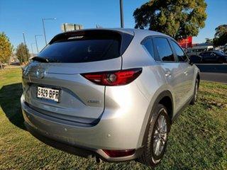 2017 Mazda CX-5 KF4WLA Maxx SKYACTIV-Drive i-ACTIV AWD Sport Silver 6 Speed Sports Automatic Wagon.