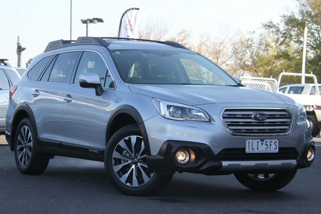 Used Subaru Outback B6A MY16 2.5i CVT AWD Premium Essendon Fields, 2016 Subaru Outback B6A MY16 2.5i CVT AWD Premium Silver, Chrome 6 Speed Constant Variable Wagon